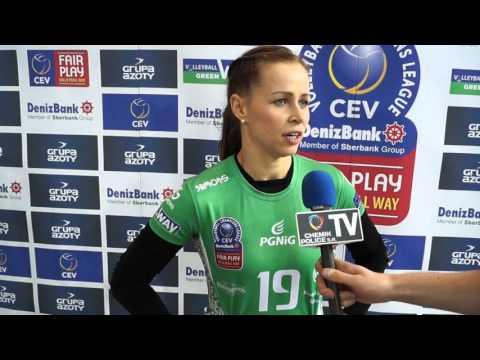 Maj-Erwardt: Dobrze jest wrócić do Ligi Mistrzyń.