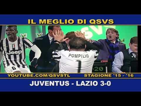 qsvs - i gol di juventus - lazio 3 a 0