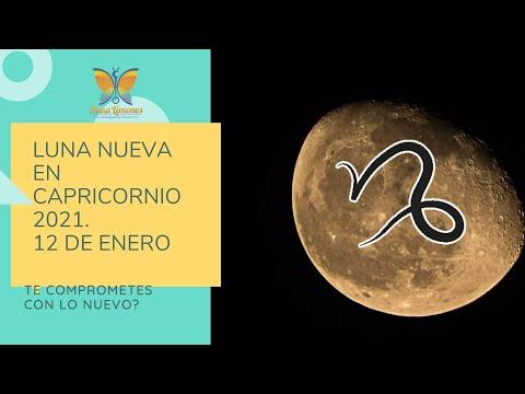 LUNA NUEVA EN CAPRICORNIO 2021 HOROSCOPO Y EXPLICACION видео