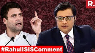 Video #RahulISISComment: What's The Real Problem? | The Debate With Arnab Goswami MP3, 3GP, MP4, WEBM, AVI, FLV September 2018