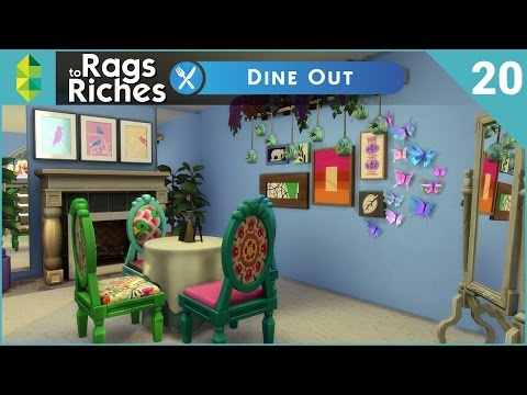 The Sims 4 Dine Out - Rags to Riches - Part 20