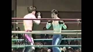 小楠の総合格闘技現役時代の試合です。MMA Flyweight 1st match in the world Kenji Ogusu vs Toshio Ando
