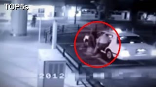 Video 5 Terrifying & Convincing Videos of Ghosts Caught On CCTV Cameras MP3, 3GP, MP4, WEBM, AVI, FLV Desember 2018