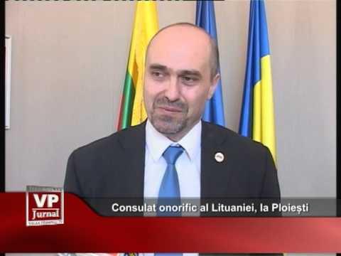 Consulat onorific al Lituaniei, la Ploiești
