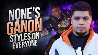 Video n0ne's Ganon Styles on Everyone | The Best n0ne Ganon Combos/Plays | Melee MP3, 3GP, MP4, WEBM, AVI, FLV Desember 2017