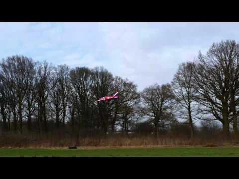 BAE Hawk – 2. Landung