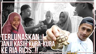 Download Video TERLUNASKAN..! JANJI KASIH KURA-KURA KE RIA RICIS..! MP3 3GP MP4