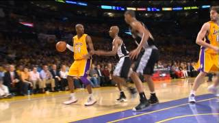 2008 WCF - San Antonio vs Los Angeles - Game 5 Best Plays