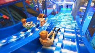 Video Indoor Playground Fun for Family and Kids at Kalle's Lek & Lattjo MP3, 3GP, MP4, WEBM, AVI, FLV Juni 2018