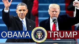 A chronological, back-and-forth look at the first 100 days of the presidencies of Democrat Barack Obama and Republican Donald Trump.Subscribe to TDC: https://www.youtube.com/TheDailyConversation/Video by Bryce Plank and Robin West