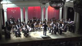 National Ukrainian Brass Orchestra. Drums Konstantyn Napolov.
