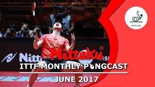 Join the Nittaku's ITTF Pongcast as it looks at all the international table tennis action in June 2017. This month, the Pongcast reviews all the ITTF events that happened across the globe and all the news within the ITTF.Subscribe here for more official Table Tennis highlights: http://bit.ly/ittfchannel.