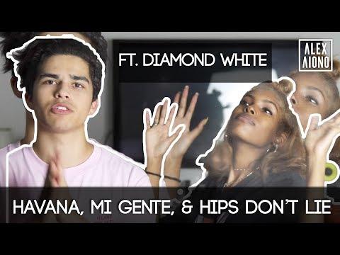 Havana / Mi Gente / Hips Don't Lie Mashup [Feat. Diamond White]