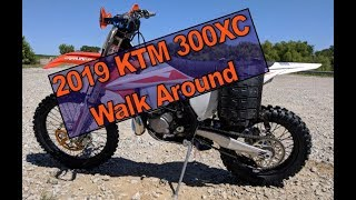 10. 2019 KTM 300XC Walk-around