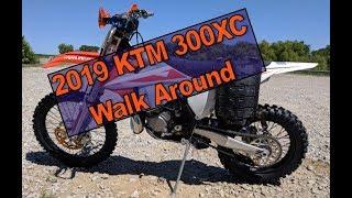 1. 2019 KTM 300XC Walk-around