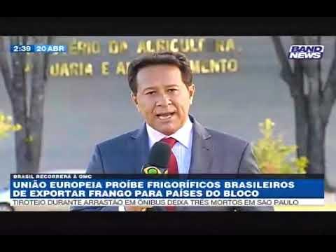 União Europeia impõe embargo contra frango brasileiro