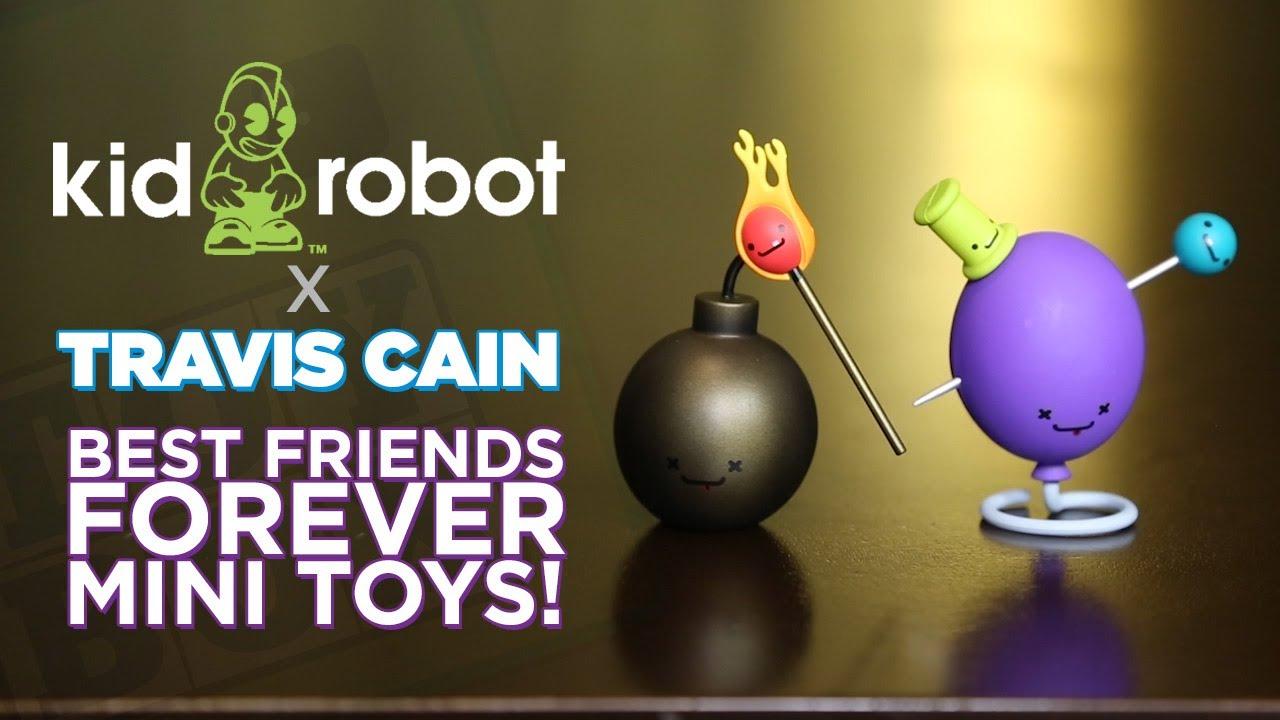 Kidrobot X Travis Cain Best Friends Forever! BLIND BOXES!
