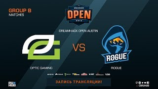 OpTic Gaming vs Rogue - DreamHack Open Austin 2018 - de_inferno [Anishared, Smile]