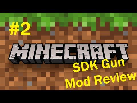 Minecraft sdk s gun mod review part 2 the gadgets utilities