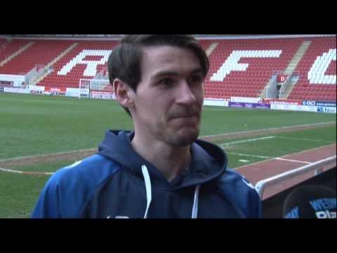 Kieran Lee on his winning goal v Rotherham (видео)