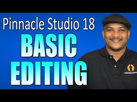 Pinnacle Studio 18 Ultimate - Basic Editing Beginners Tutorial