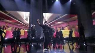PSY Performs Gangnam Style with MC Hammer & His 2 Legit at the 2012 American Music Awards
