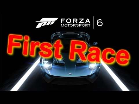 Forza Motorsport 6 Gameplay - First Race (Demo) (видео)