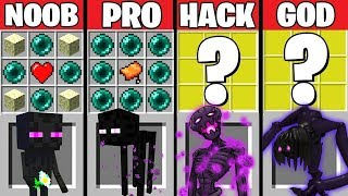 Video Minecraft Battle: ENDERMAN CRAFTING CHALLENGE ~ NOOB vs PRO vs HACKER vs GOD – Evolution Animation MP3, 3GP, MP4, WEBM, AVI, FLV Juni 2019
