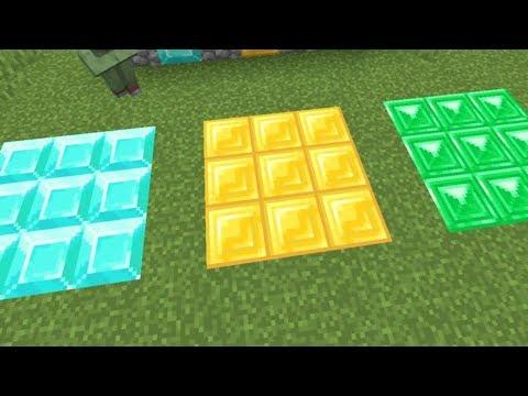 Minecraft 1.14 News: Diamond, Gold & Emerald Textures! +Minecon Times (видео)