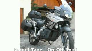 10. 2005 Aprilia ETV 1000 Caponord -  Top Speed Details Transmission Features superbike Specs