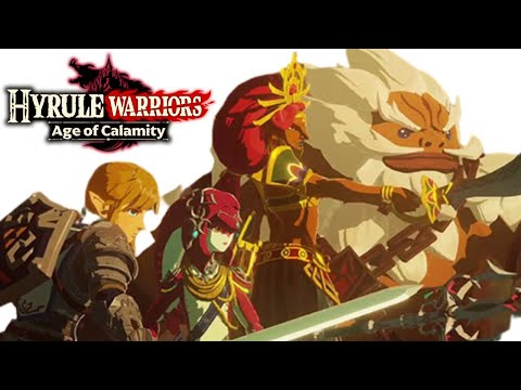 Hyrule Warriors LIVE playthrough! Age of Calamity -  NO SPOILERS Please!!