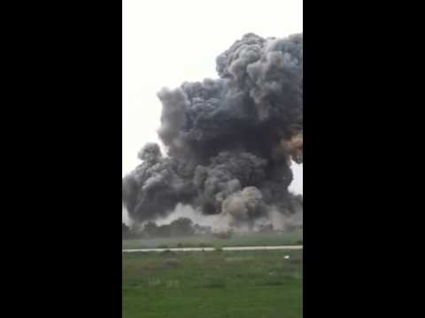 West - Video of the fertilizer plant explosion in West, Texas taken by Francisco Rodarte.