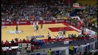 Greece lost to Nigeria 80-79 in Olympic Qualifying Tournament.2012-07-06
