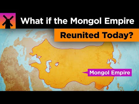 What if the Mongol Empire Reunited Today?