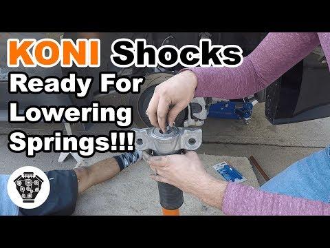 Koni (Rear) Shock: Install (видео)
