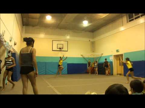 HORNSEY - groups of Gymnasts that train at the Harringay Club N8 put on a christmas Disney themed show 2012.