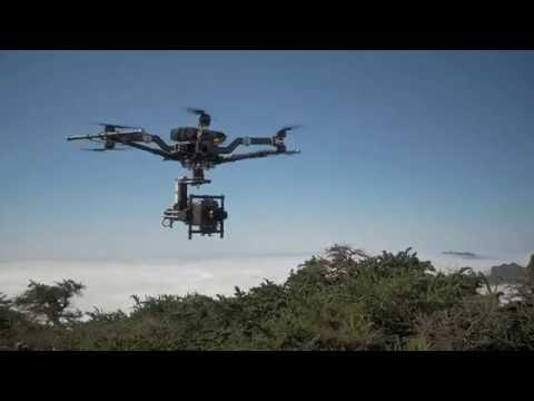 O Fantastico mundo do Cinema com os Drones