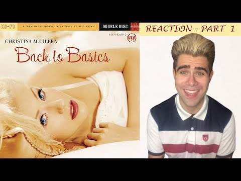 Christina Aguilera - Back To Basics / Album (REACTION) - Part 1
