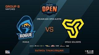 Rogue vs Space Soldiers - DreamHack Open Austin 2018 - de_dust2 [SleepSomeWhile]
