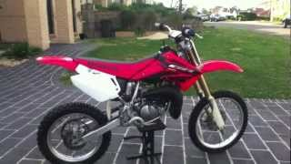 7. 2004 Honda CR85 Start-up