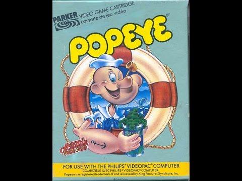 Popeye | Philips Spielekonsolen | G7000 / G7400 / Videopac / Videopac+