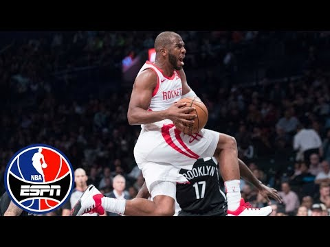 Video: How Chris Paul led the Rockets to victory vs. Nets | After The Buzzer