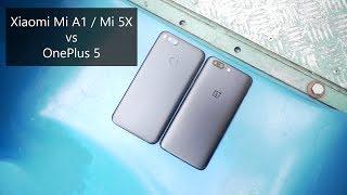 Xiaomi Mi 5X vs OnePlus 5 Comparison Review