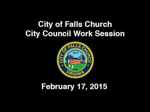 City Council Work Session February 17, 2015