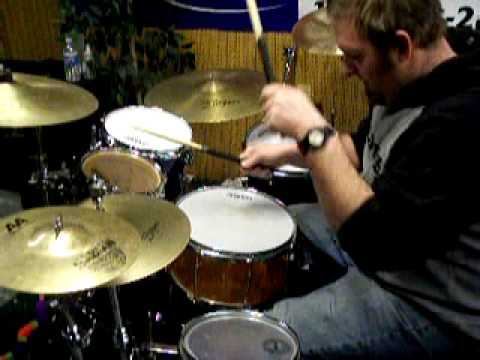 Drums - In this video, I decide to show people how to play some fast rolls around the kit. People have been asking me how I do those fast rolls all over the kit. Wel...
