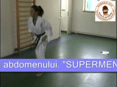 Ora de karate - Exercitii fizice suplimentare
