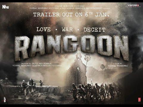 Rangoon  2017  Full HD Movie || Shahid Kapoor ||Kangana Ranaut || Saif Ali khan ||