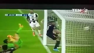 Mbappe's Goal Juventus vs Monaco 2-1 (agg. 4-1)