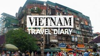 Halong Vietnam  city pictures gallery : VIETNAM Travel Diary (Hanoi & Halong Bay!)