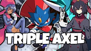 TRIPLE AXEL WEAVILE NEEDS TO BE BANNED... POKEMON SWORD AND SHIELD DLC by Thunder Blunder 777